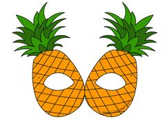 maschera-frutta-ananas Mascara is mostly a cosmetic commonly helpful to help the eyelashes. Fruit Birthday, Birthday Month, Nutrition Month Costume, Vegetable Costumes, Banana Mask, Fruit Costumes, Apple Costume, Printable Masks, Printables