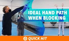 Want better touches and more blocks? Tune in to watch Tod Mattox's explanation of the correct hand positioning while getting creative with his explanation.