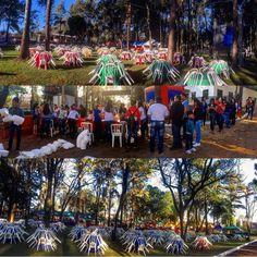 Así se está preparando la Gobernación para recibirte!  A las 10 hs. arranca #LaComilona por primera vez en Alto Paraná.