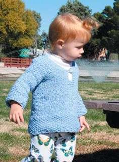 Child's Tunic in Classic Elite Yarns Verde Collection Sprout | Knitting Patterns | LoveKnitting