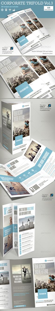 Corporate Tri-fold Brochure Vol.3 by Paulnomade