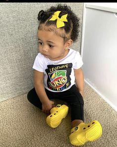 Cute Little Girls Outfits, Cute Little Baby, Pretty Baby, Cute Baby Girl, Kids Outfits, Cute Black Kids, Black Baby Girls, Beautiful Black Babies, Cute Kids Fashion