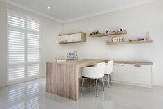Elegant study & home office spaces © Ben Trager Homes   On display in Perth
