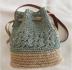 Trendy Sewing Bags And Purses Patterns Free Crochet Ideas Crochet Pouch, Crochet Diy, Crochet Crafts, Crochet Bags, Crochet Baskets, Crochet Ideas, Crochet Clothes, Crochet Projects, Free Crochet Bag