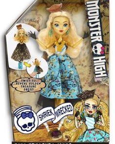 Pretty — Monster High Shriek Wrecked Doll Dana Treasure...