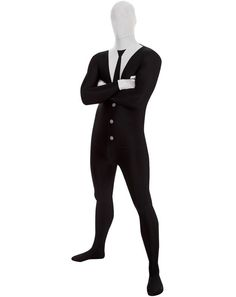 """""""Slender Man Skin Suit""""   Community Post: 19 Ridiculously Weird Halloween Costumes You Won't Believe Exist"""