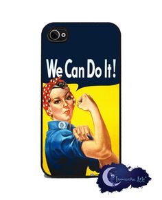 Rosie The Riveter iPhone Cover by Insomniac Arts on Etsy, $15.99