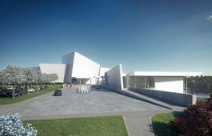 richard meier architects: shenzhen clubhouse