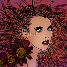 Anna by RockC | Redbubble Canvas Prints, Framed Prints, Art Prints, Passion Project, Female Form, Laptop Skin, Art Boards, Decorative Throw Pillows, Anna