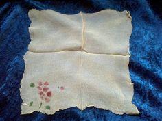 Two Antique Petite Silk Crepe  Handkerchiefs by DecrepitudeAplenty, $45.00