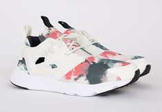 29386bfda3a Paint-Blot Graphics Are A Clean Look On The Reebok Furylite
