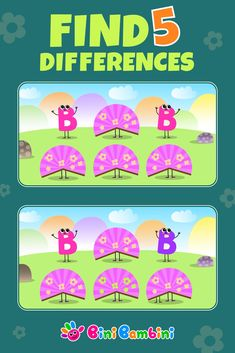 Have you found 5 differences?👍 Learn to count with Bini Bambini 🌈#binibambini #education #learning #teaching #drawing #creativity #alphabet #letters #reading #phonics #numbers #counting #math #bestgames #apps #funnykids #happychildren #toddler #preschool #kindergarten Educational Apps For Kids, Learning Games For Kids, Fun Games For Kids, Games For Toddlers, Preschool Kindergarten, Toddler Preschool, Toddler Apps, Teaching Drawing, Learn To Count