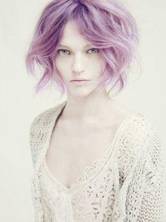 Pastel Hair Colors 2013, purple