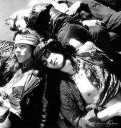 Guns N' Roses Axl Rose, Izzy Stradlin, Duff Mckagan