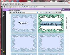 Add Text to an Editable PDF File (Make Your Own Labels)