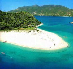 Marathonissi islet at Laganas bay ~ Zakynthos island, Greece