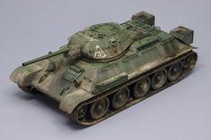 T-34/76 Nº112 Factory, Model Late 1942, Tamiya 1:48