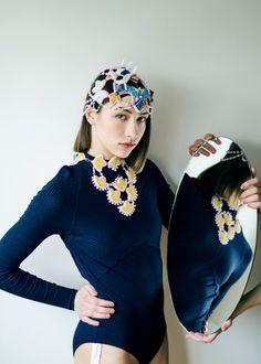 Asian jewelry set - exotic jewelry design - festival fashion costume - one of a kind jewelry - handmade designer jewelry - beadwork - beaded
