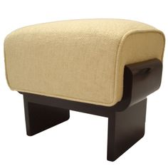Donald Deskey (1894-1989) American Modern Upholstered Stool
