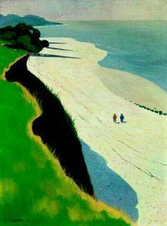 Félix Vallotton - La scogliera dalla sabbia bianca