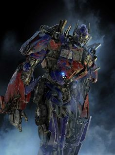 "Optimus Prime; ""One shall stand, and one shall fall."""