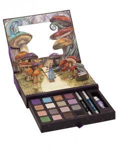 alice in wonderland - pop up make up kit!!!!