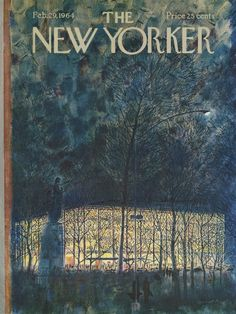 The New Yorker - Saturday, February 29, 1964 - Issue # 2037 - Vol. 40 - N° 2 - Cover by : Garrett Price
