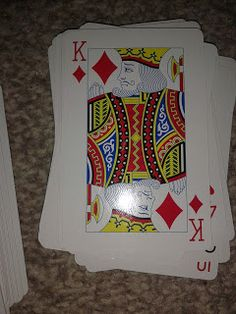 Flame: Creative Children's Ministry: Playing card prayers!