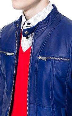 JACKET WITH CHEST ZIPS - Jackets - Man | ZARA United States