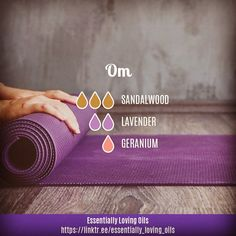 """0 Likes, 2 Comments - Darlene Ryan (@essentially_loving_oils) on Instagram: """"Om - Diffuser Blend . Here's a great diffuser blend for all my Yogi's and Yoginis! . * Aromatic…"""""""