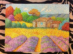 MY NEW POINTILLISM PIECE AHHH SO PROUD!!!! Done with Crayola markers (I honestly prefer them to fancy shmancy markers) and it took about forever and half (stupid grass) Hope you guys like it I work...