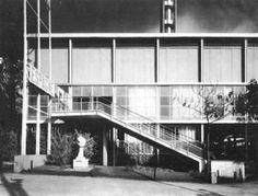 Pabellón Español de la Exposición Universal de París de 1937. Obra de los arquitectos Josep Lluís Sert y Luis Lacasa