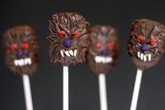 Werewolf Cake Pops