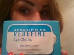REDEFINE eye cloths! !