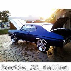 Bowtie SS Nation chevelle billet wheels