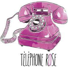 Téléphone Rose