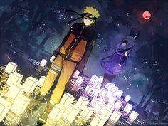 Tags: Fanart, NARUTO, Wallpaper, Uzumaki Naruto, Uchiha Sasuke, Pixiv, Aoshiki, Fanart From Pixiv