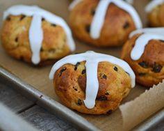#Gluten-Free Hot Cross Buns Recipe #vegetarian