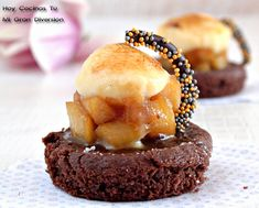 Hoy Cocinas Tú: Galletas bretonas con manzana caramelizada y crema catalana