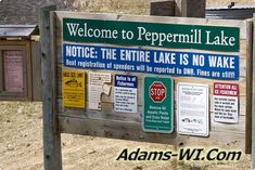 #lakeswi Peppermill Lake is located in Adams County Wisconsin here you can find Info, Maps, Photos, Aerial Images plus Area Information like nearby Lakes, Public Land, Townships and communities. #adamscountywi
