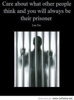 I think i will be a prisoner forever!