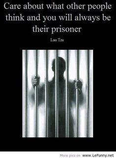 I think i will be a prisoner forever!