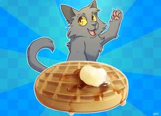Image result for firestar doesn't like waffles #WarriorCat