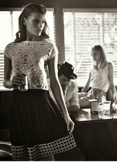 """Suggestions,"" by Vincent Peters for Vogue Italia April 2014"