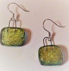 Brilliant green earrings Green Earrings, Drop Earrings, Crochet Earrings, Colour, Jewelry, Winter, Color, Winter Time, Bijoux