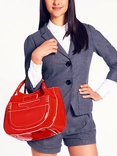Kate Spade, red and big!