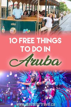 Some of the best free things to do in Aruba also happen to be the most fun! Save money at these unique Aruba attractions, street parties and points of interest.