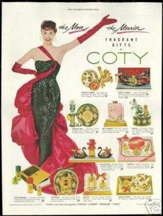§§§ : Coty Fragrances : 1954