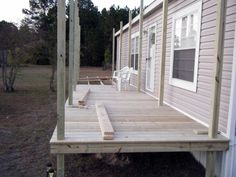 porch designs for mobile homes front porches porch and decking. beautiful ideas. Home Design Ideas