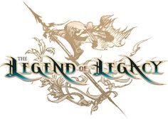 The Legend of Legacy Director On Recapturing The Magic Of RPGs - Siliconera Typography Logo, Typography Design, Lettering, Legend Of Legacy, Game Font, Game Ui, Fantasy Logo, Video Game Logos, Letter Icon